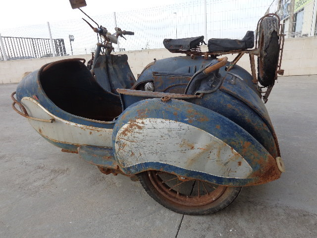 1957 Iso 125 with sidecar  For Sale (picture 3 of 6)