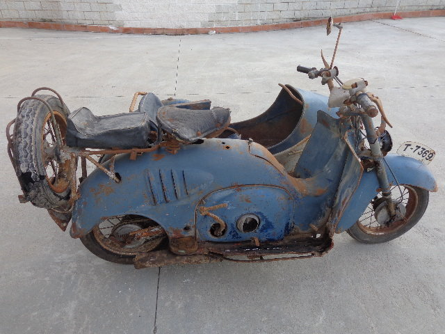 1957 Iso 125 with sidecar  For Sale (picture 4 of 6)