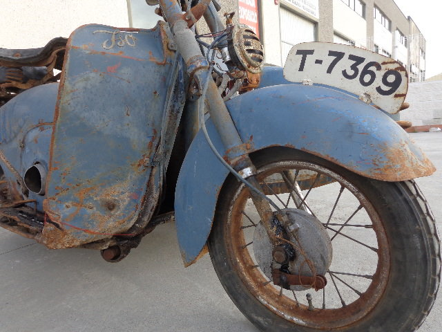 1957 Iso 125 with sidecar  For Sale (picture 5 of 6)