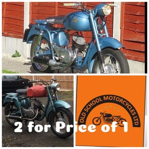 1954 ISO  125cc  x2  together total reduced  2 for 1 For Sale