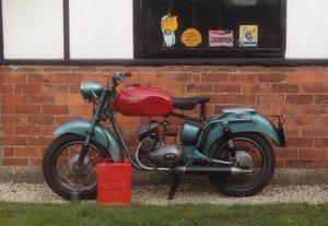 1954 ISO   125 2 stroke For Sale