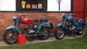 1954 ISO   125 2 stroke  with new reduced price For Sale