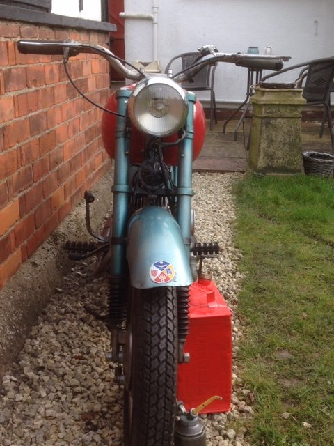 1954 ISO   125 2 stroke  with new reduced price SOLD (picture 4 of 6)