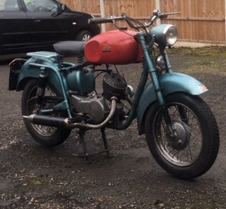 1954 ISO   125 2 stroke  with new reduced price SOLD (picture 5 of 6)