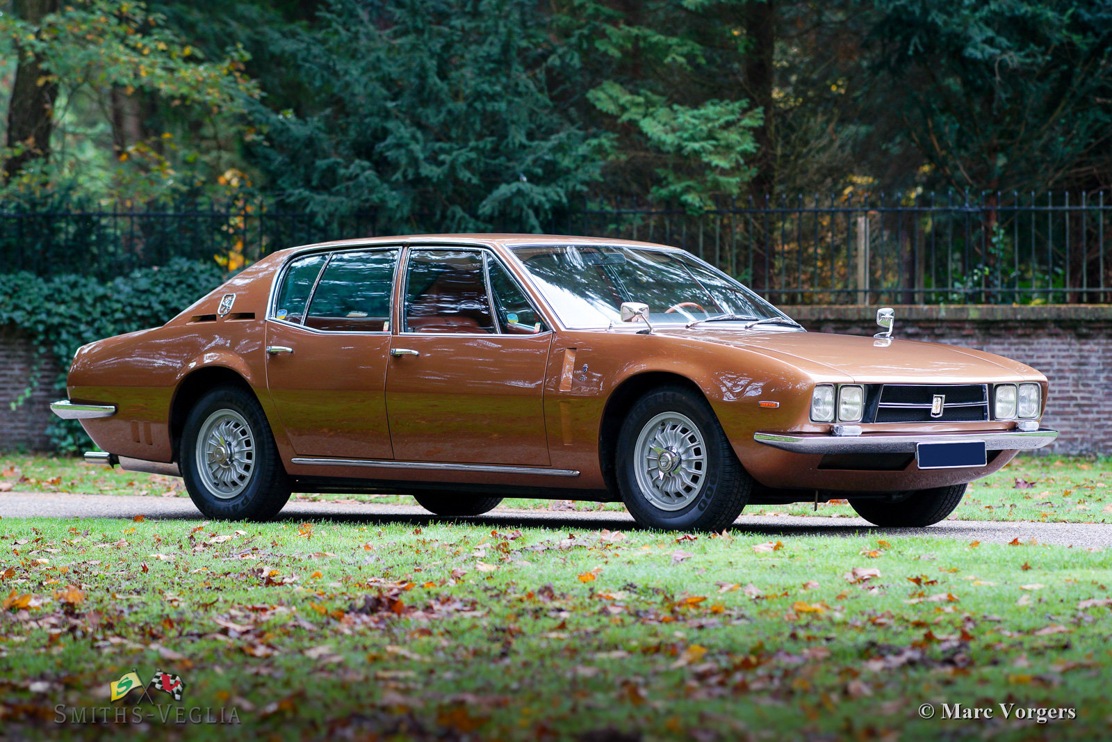 1969 Beautiful Iso Rivolta Fidia in an unrestored condition For Sale (picture 1 of 6)