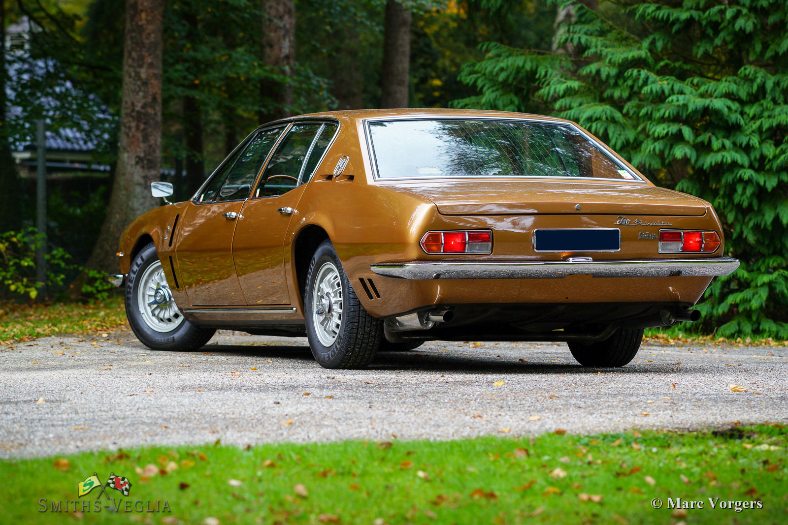 1969 Beautiful Iso Rivolta Fidia in an unrestored condition For Sale (picture 5 of 6)