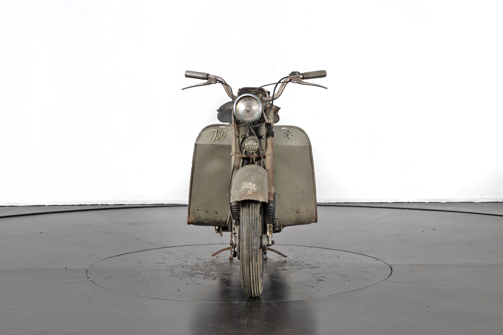 ISO - SCOOTER 125 - 1953 For Sale (picture 3 of 6)