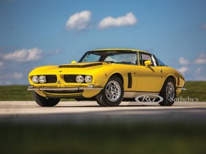 1968  Iso Grifo GL Series I by Bertone