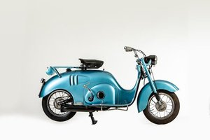 1955  ISOSCOOTER 125CC MOTOR SCOOTER (LOT 591)
