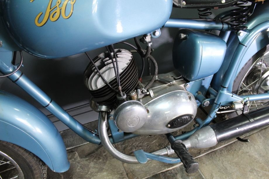 1954 Moto ISO Gran Turismo 125 cc Rare Italian bike  For Sale (picture 3 of 6)