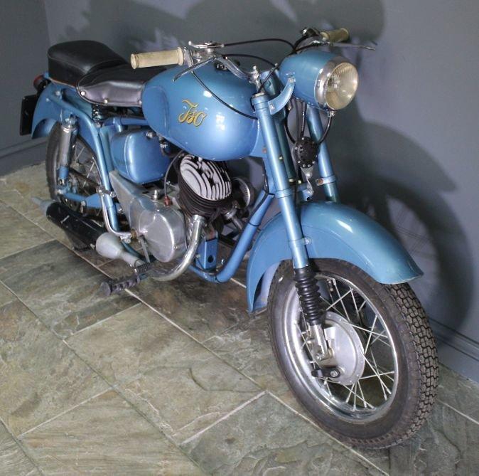 1954 Moto ISO Gran Turismo 125 cc Rare Italian bike  For Sale (picture 5 of 6)