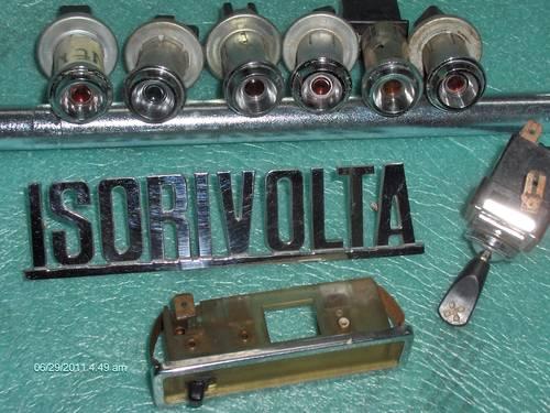 1970 parts ISO RIVOLTA Bizzarrini  For Sale (picture 2 of 2)