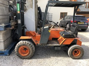 1990 AUSA ROUGH TERRAIN SITE FORK LIFT SELF BUILD £7750 + VAT ONO For Sale