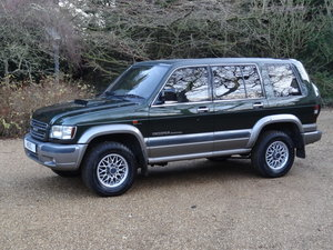 Isuzu Trooper Full History/ Over £2000 just spent !