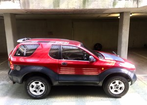 1999 Isuzu Vehicross VX Low mileage very rare classic SOLD