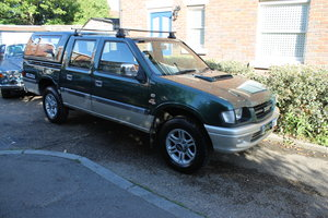 2003 Isuzu 4 Sport LWB Pick Up 4x4 2.5 TD Crew Cab - Very Rare!! For Sale