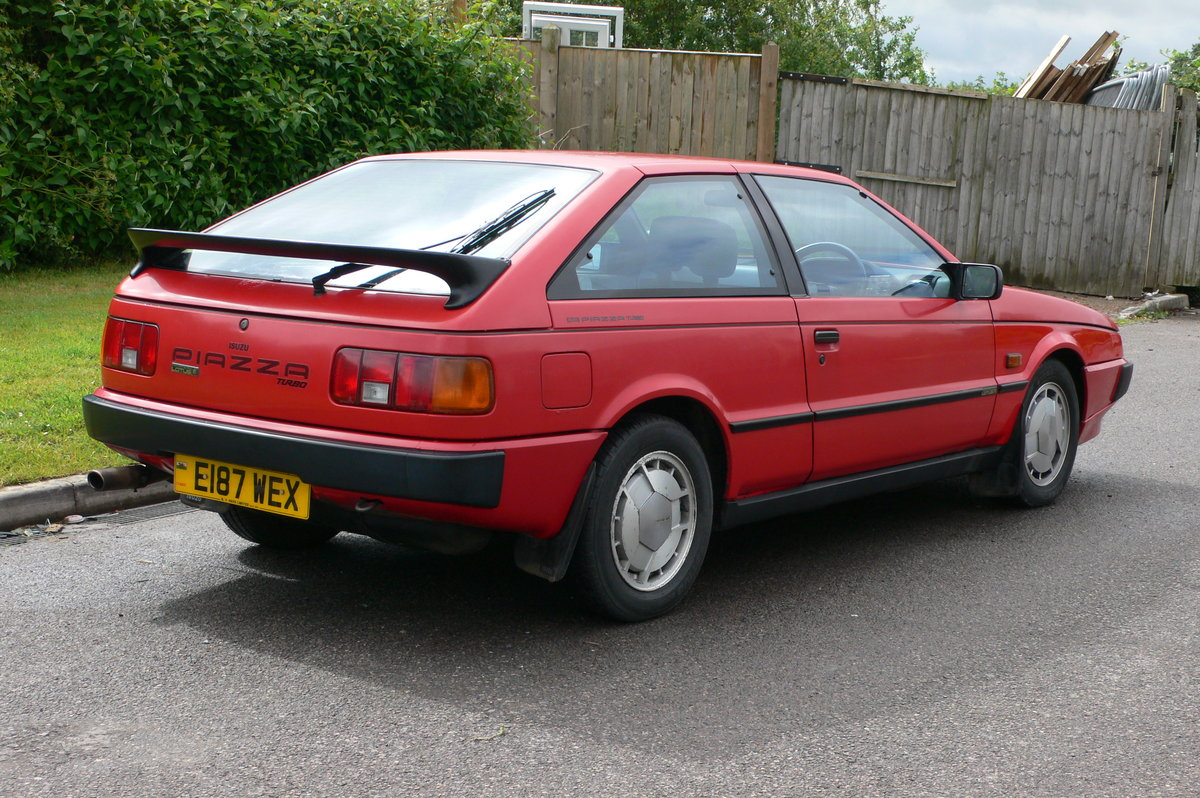 1988 Isuzu Piazza Turbo HBL Coupe Auto For Sale by Auction (picture 3 of 6)