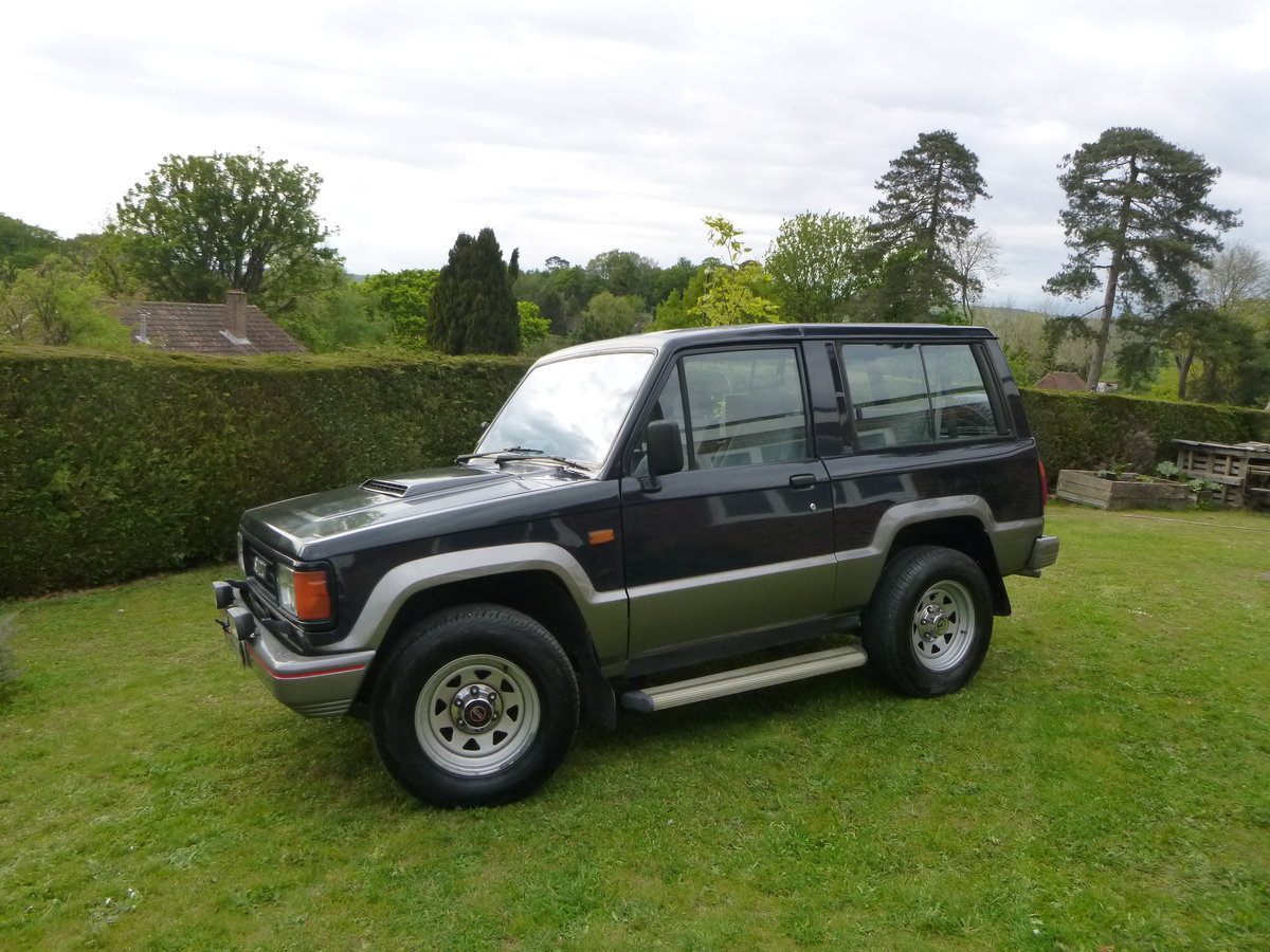1992 Isuzu SWB 2.8 TD Trooper Mark1 For Sale (picture 1 of 6)