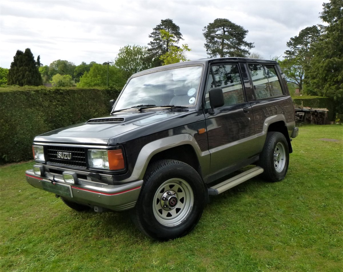1992 Isuzu SWB 2.8 TD Trooper Mark1 For Sale (picture 2 of 6)