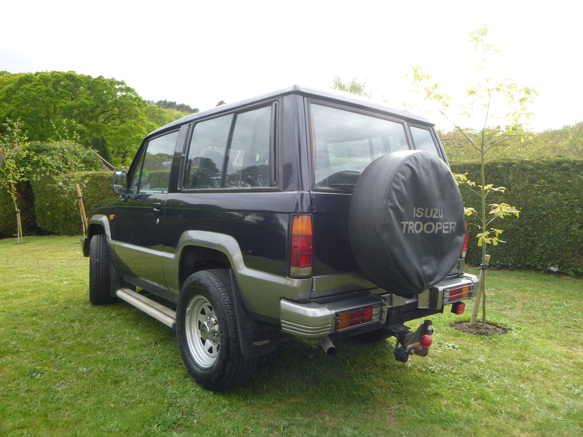 1992 Isuzu SWB 2.8 TD Trooper Mark1 For Sale (picture 3 of 6)