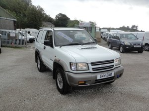 2000  ISUZU TROOPER 3.0 TD COMMERCIAL 4WD VAN **NO VAT**