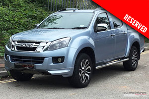 RESERVED Isuzu D Max 2.5 TD Centurion Double Cab Pickup auto