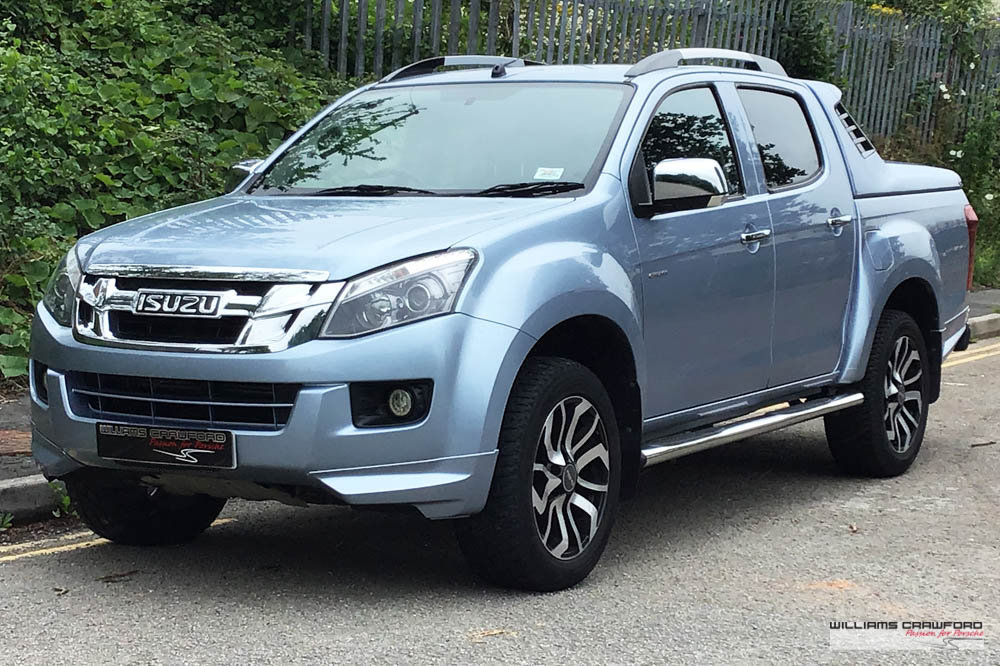 2016 Isuzu D Max 2.5 TD Centurion Double Cab Pickup auto SOLD (picture 1 of 6)
