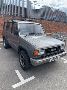 1991 Private Sale Isuzu Trooper MK1