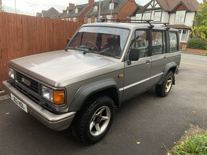 MK1 Isuzu Trooper Not Pajero/Suzuki/Defender
