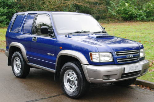 Isuzu Trooper Commercial. 3.0 Diesel. 4x4. Very Low Miles..  SOLD (picture 1 of 6)