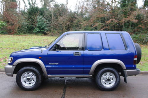 Isuzu Trooper Commercial. 3.0 Diesel. 4x4. Very Low Miles..  SOLD (picture 2 of 6)