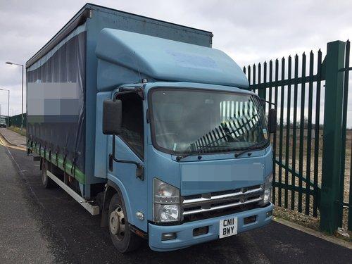 2011 Isuzu N75.190 Curtain Sider - Box Van. 5.2 Diesel..  Auto.. SOLD (picture 1 of 6)
