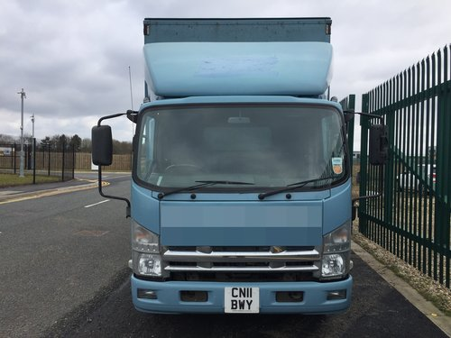 2011 Isuzu N75.190 Curtain Sider - Box Van. 5.2 Diesel..  Auto.. SOLD (picture 3 of 6)