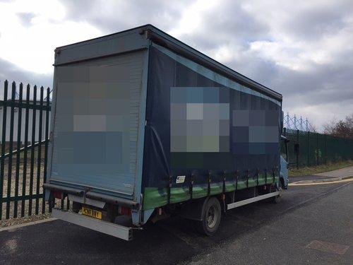 2011 Isuzu N75.190 Curtain Sider - Box Van. 5.2 Diesel..  Auto.. SOLD (picture 6 of 6)