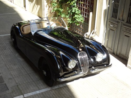 1950 Jaguar XK120 early alloy/steel body, fully restored For Sale (picture 1 of 6)