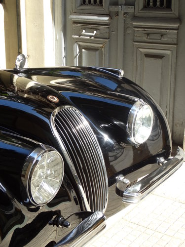 1950 Jaguar XK120 early alloy/steel body, fully restored For Sale (picture 6 of 6)