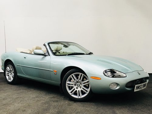 2003 JAGUAR XKR 4.2 CONVERTIBLE - LOW MILEAGE SOLD (picture 1 of 6)