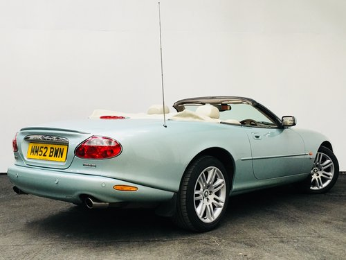 2003 JAGUAR XKR 4.2 CONVERTIBLE - LOW MILEAGE SOLD (picture 2 of 6)