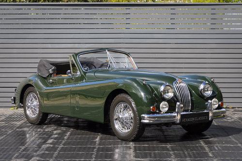 1956 JAGUAR XK 140 DHC For Sale (picture 1 of 6)