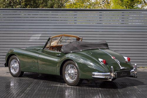 1956 JAGUAR XK 140 DHC For Sale (picture 2 of 6)
