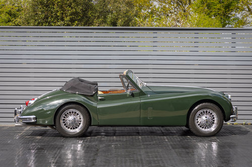 1956 JAGUAR XK 140 DHC For Sale (picture 3 of 6)