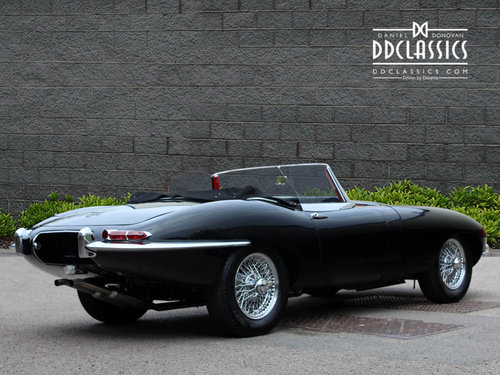 Jaguar Series I 4.2 E Type Roadster (LHD) 1965 SOLD (picture 2 of 6)