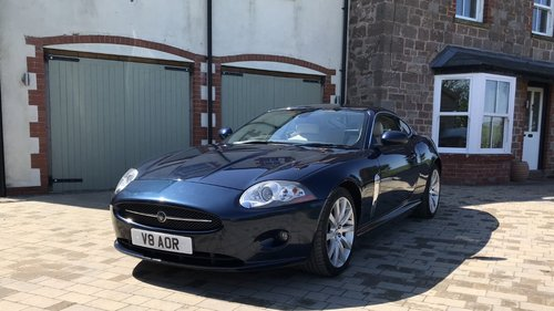 2007 Jaguar XK 4.2 Coupe. Full History, Private plate For Sale (picture 1 of 6)