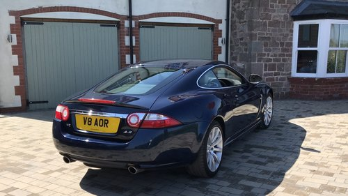 2007 Jaguar XK 4.2 Coupe. Full History, Private plate For Sale (picture 2 of 6)
