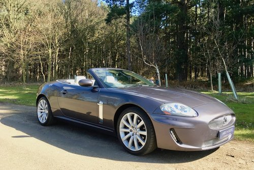 2007 Jaguar XK Convertible - Stunning, 23k miles with FSH SOLD (picture 1 of 6)