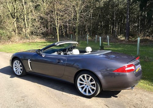 2007 Jaguar XK Convertible - Stunning, 23k miles with FSH SOLD (picture 2 of 6)