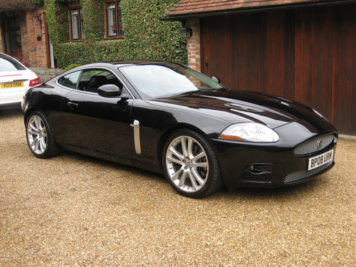 2008 Jaguar XKR 4.2 V8 Supercharged Coupe With Only 43,000 Miles For Sale (picture 1 of 6)