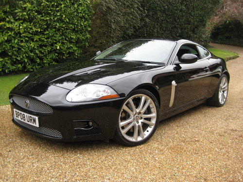 2008 Jaguar XKR 4.2 V8 Supercharged Coupe With Only 43,000 Miles For Sale (picture 2 of 6)