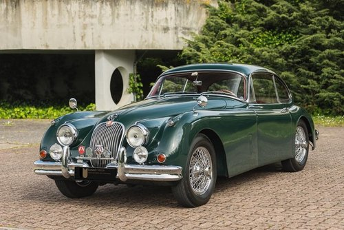 LHD 1957 Jaguar XK150 Automatic with Factory Overdive!  SOLD (picture 1 of 6)