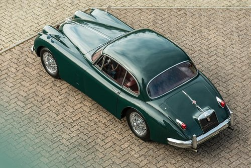 LHD 1957 Jaguar XK150 Automatic with Factory Overdive!  SOLD (picture 2 of 6)